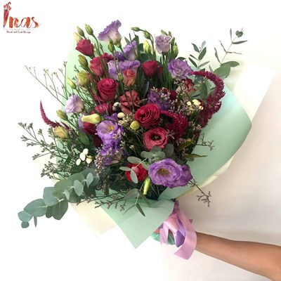 Colorful Lisianthus Bouquet